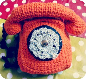 téléphone au crochet
