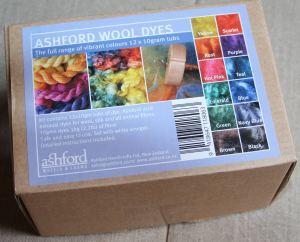 boite de teintures Ashford
