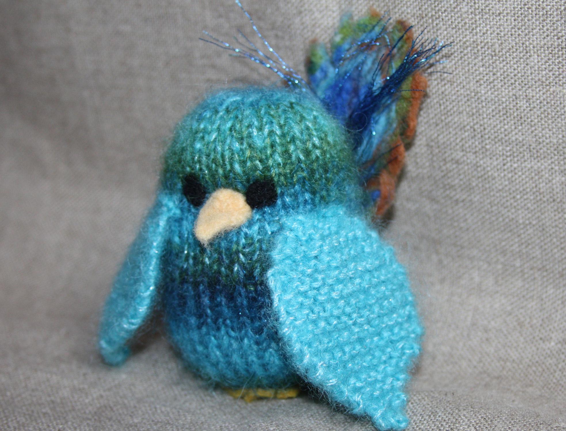 comment tricoter un oiseau