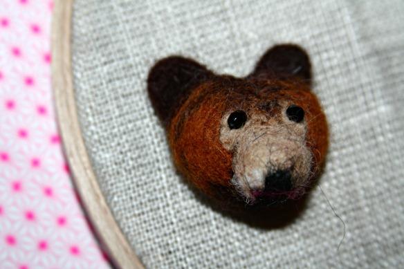 ours feutré