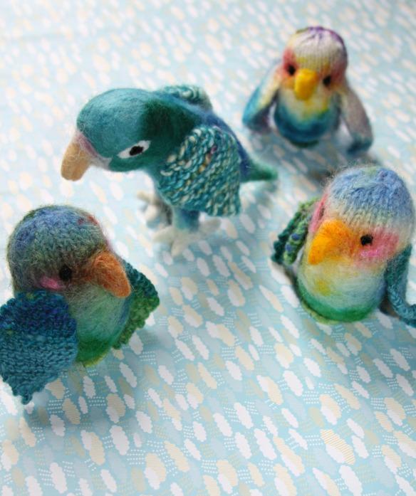 oiseaux en laine1